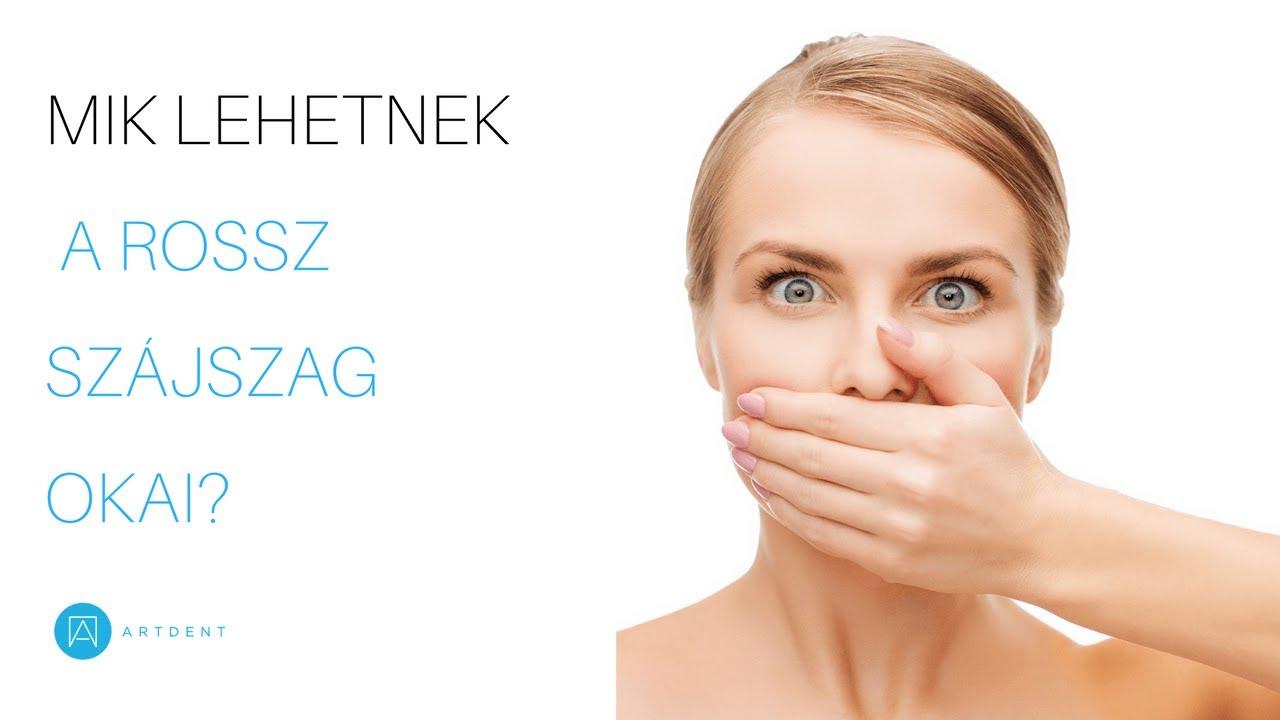 rossz lehelet és fájdalom a hasnyálmirigyben betegség szaga a szájból