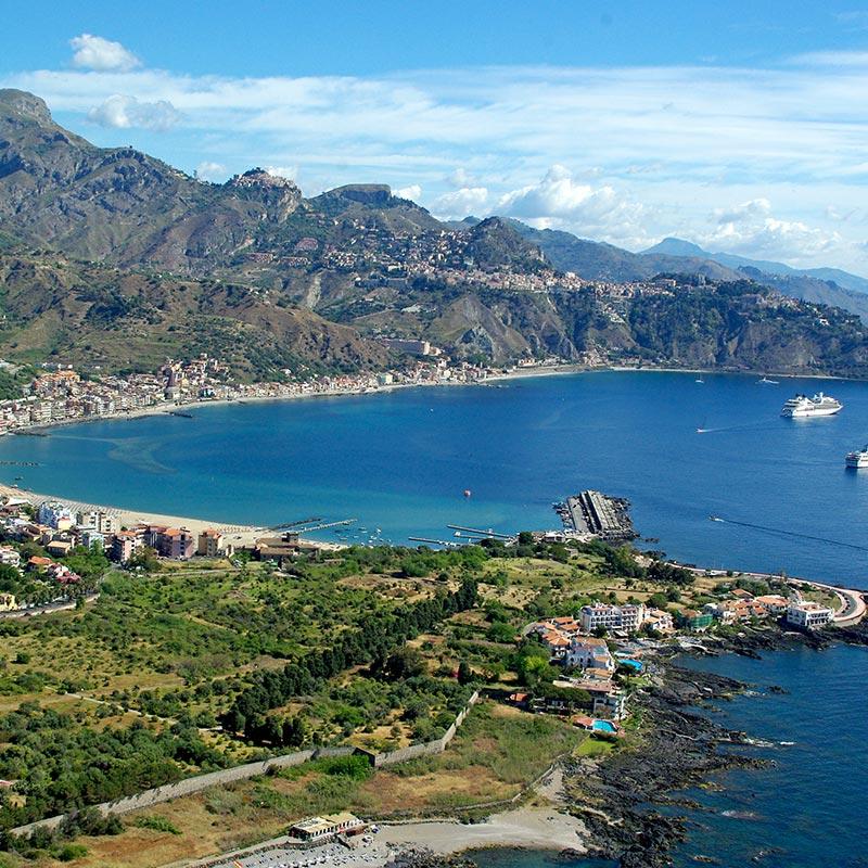 Rent a car giardini naxos, Cycling Sicily