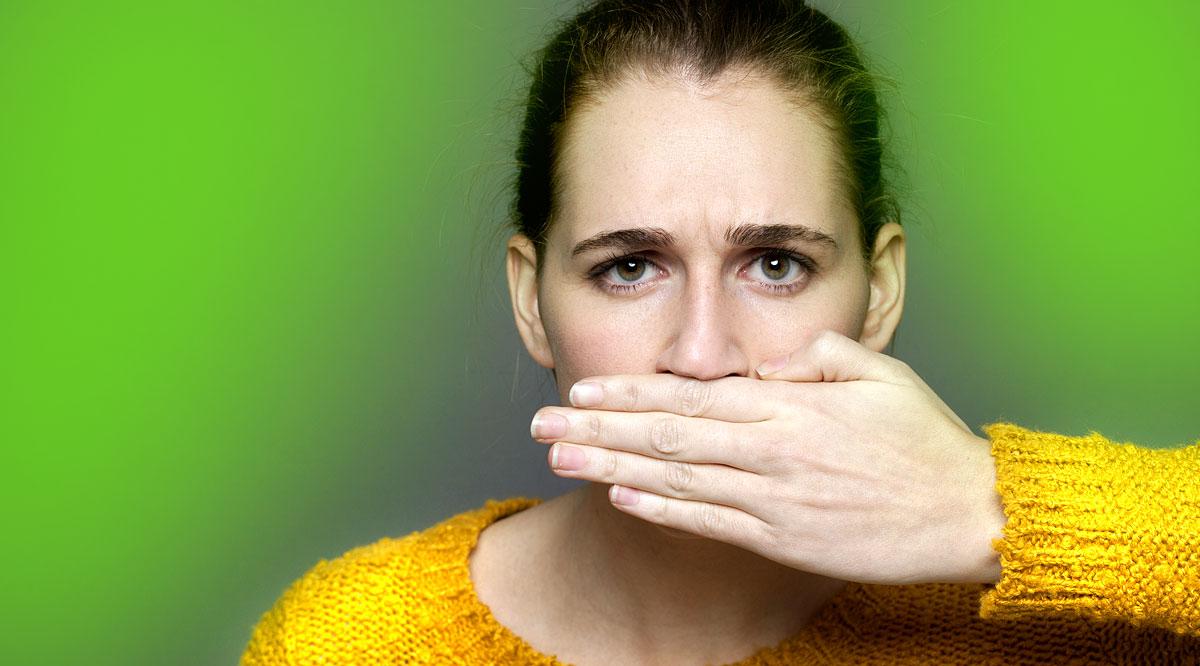 Miért a szájból ürülék szaga, A szájüregi betegségek