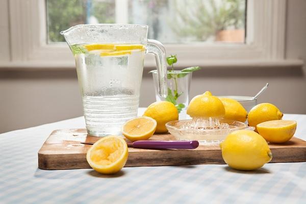 citrom férgek kezelésében