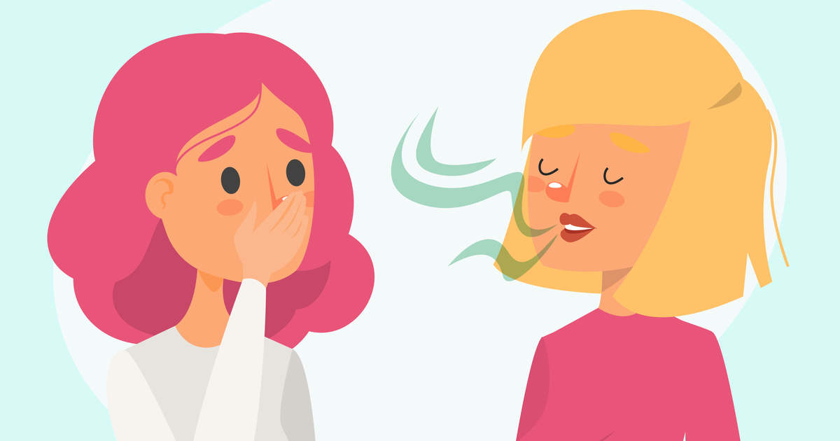 rossz lehelet nyelv